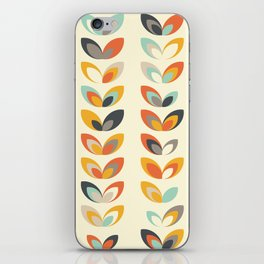 Retro seasons 01, Summer day iPhone Skin