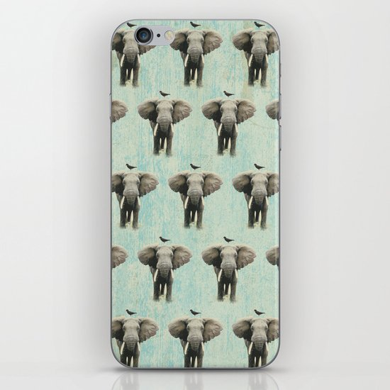 friends for life wall paper iPhone & iPod Skin