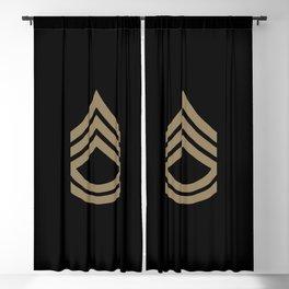Sergeant First Class (Brown) Blackout Curtain