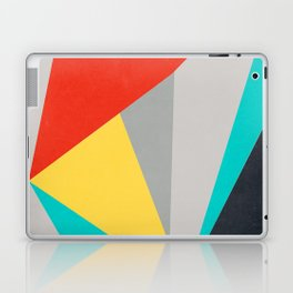 Aggressive Color Block Laptop & iPad Skin