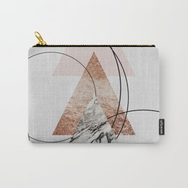 Abstract Geometric Art Carry-All Pouch