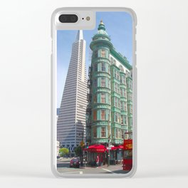 San Francisco's Mid-Morning Colors Clear iPhone Case