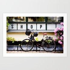 Little Shop, Berlin Art Print