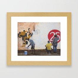 Pintores e Políticos Framed Art Print