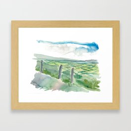 Ireland Dingle Peninsula Conor Pass County Kerry Framed Art Print