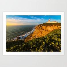 Cabo da Roca - Portugal (RR 152) Art Print