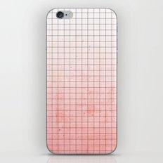 Sweet Pink Geometry iPhone Skin
