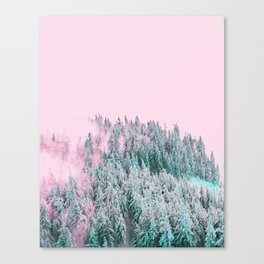 Forest Fog V5 #society6 #decor #buyart Canvas Print