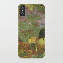 On the roofs of Paris iPhone Case