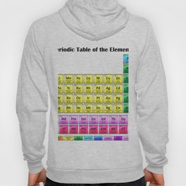 Periodic Table of the Elements Hoody