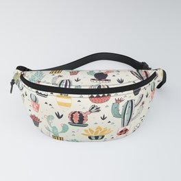 Cacti in a Flower Pot Fanny Pack