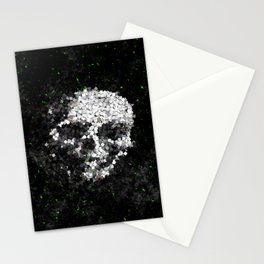Death Shuffle Stationery Cards