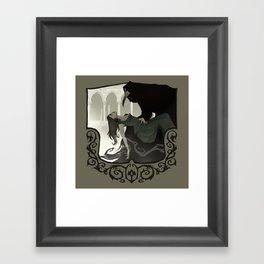 The Plague Doctor Framed Art Print
