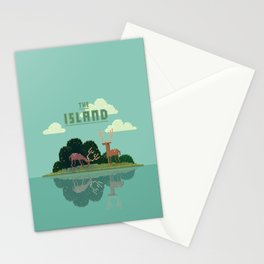 The Island Stationery Cards