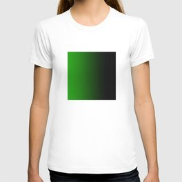 Green Powerful Blurred Energy T-shirt