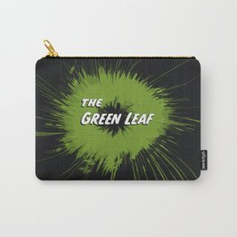 The Green Leaf abstract hemp flower Carry-All Pouch