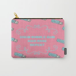 Chew Bubble gum kick arse repeat - They Live inspired movie artwork Carry-All Pouch