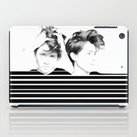 tegan and sara iPad Cases featuring Tegan & Sara by MeMRB