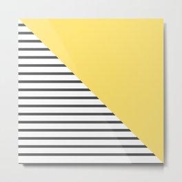 dismantled pattern Metal Print