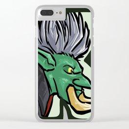 Kripp-Troll-Original Clear iPhone Case
