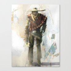 DRUNK WITH A GUN Canvas Print