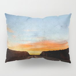 on the road to the sun Pillow Sham