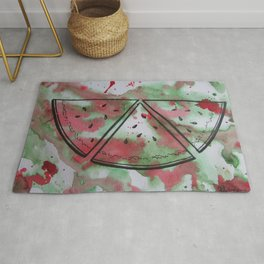 Watermelon Slices Rug