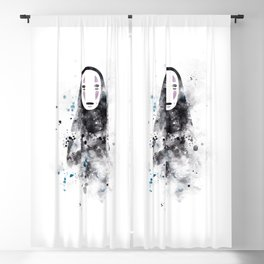 No Face Blackout Curtain