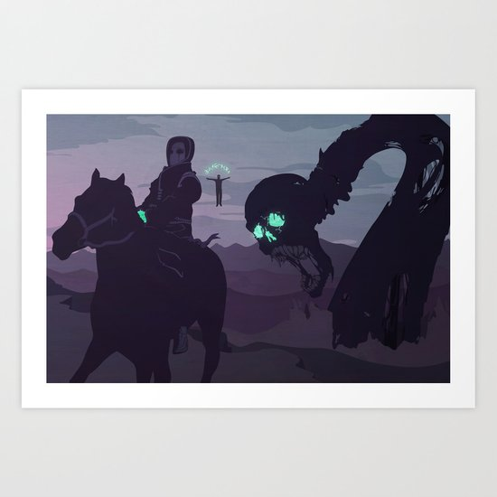 II. Agents and Shadows of the Abyss Art Print