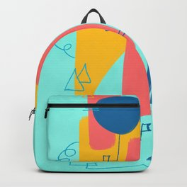 Big Wave Beachwear Supply Co Backpack