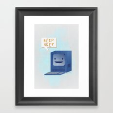 Beep Beep Framed Art Print
