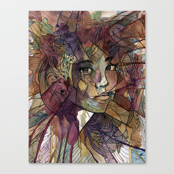 Say No More Canvas Print