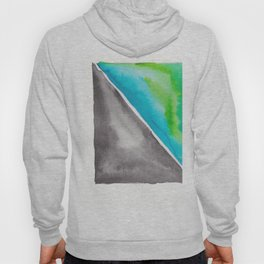 180811 Watercolor Block Swatches 4| Colorful Abstract |Geometrical Art Hoody