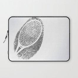 Fingerprint of a player Laptop Sleeve