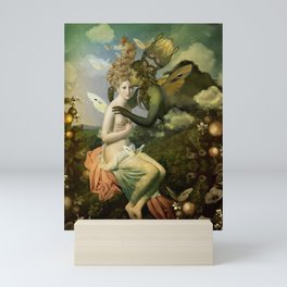 """""""The body, the soul and the garden of love"""" Mini Art Print"""