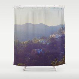 Hillside Homes Shower Curtain