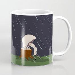 raw mushroom. Coffee Mug