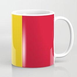 Flag of romania 3 -romania,romanian,balkan,bucharest,danube,romani,romana,bucuresti Coffee Mug