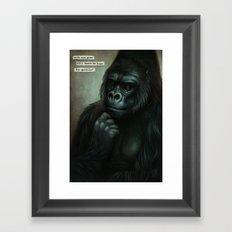 Ishmael Framed Art Print