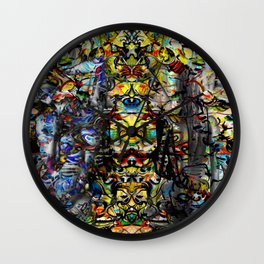 Temple of God Wall Clock