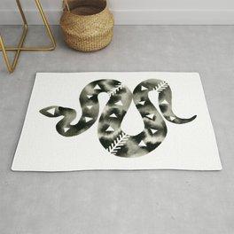 Geometric Snake Rug