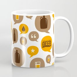 Let's Talk About Beer Coffee Mug