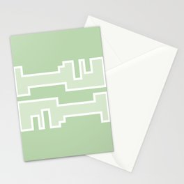 Green // Key Blade Stationery Cards