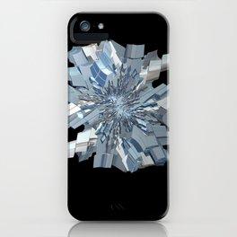 Fractal Snowflake iPhone Case