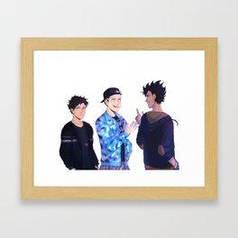 3RD GYM Framed Art Print