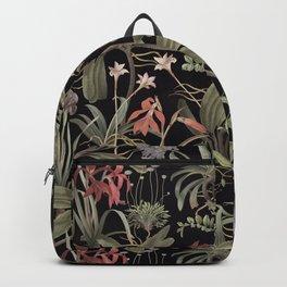 Dark Botanical Stravaganza Backpack