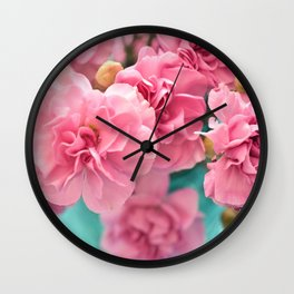 Pink Darlings Wall Clock