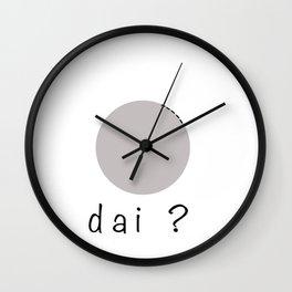 meladai? Wall Clock