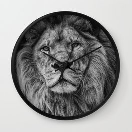Lion Print, Woodland Nursery Print, Lion King Poster, Animal Prints, Nursery Animal Print, Printable Wall Art, Nursery Decor Wall Clock