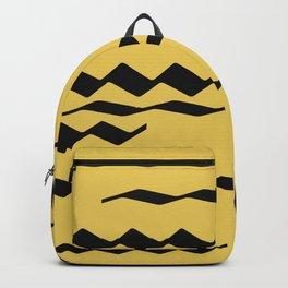 zickzack yellow Backpack